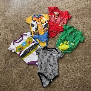 Toy story onesie bundle